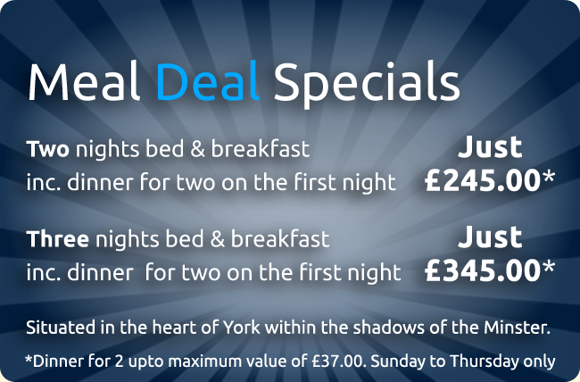 York Bed and Breakfast Special Offer