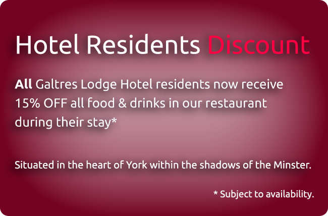 York Residents Discount